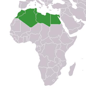 Mapa Africa Del Norte.Union De Federaciones De Futbol Del Norte De Africa Wikipedia La Enciclopedia Libre