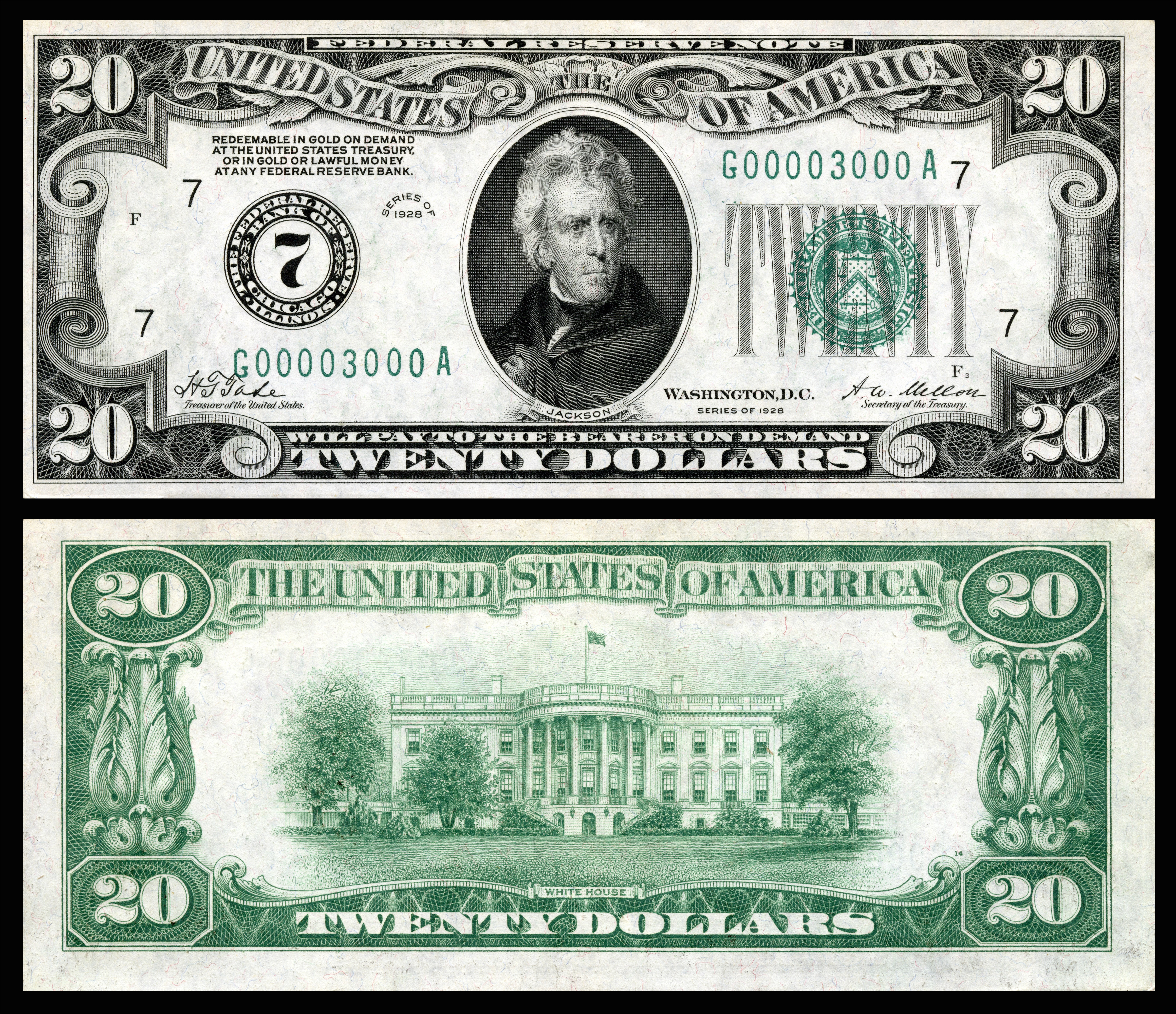 Opinions On Large Denominations Of United States Currency
