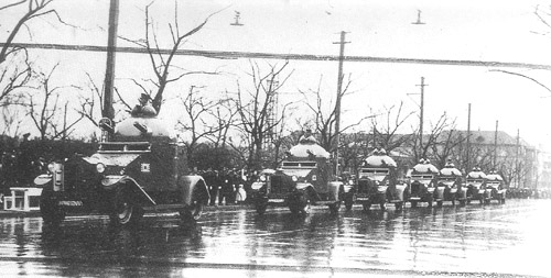 List of armoured fighting vehicles used by the Imperial Japanese