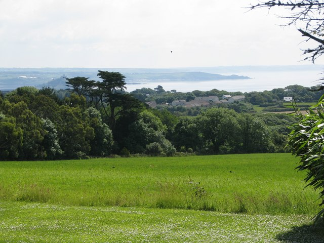 View from the terrace of Trengwainton Garden - geograph.org.uk - 1388308