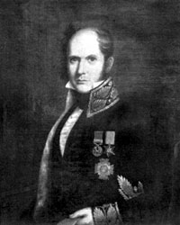 Portrait of a middle-aged man in uniform