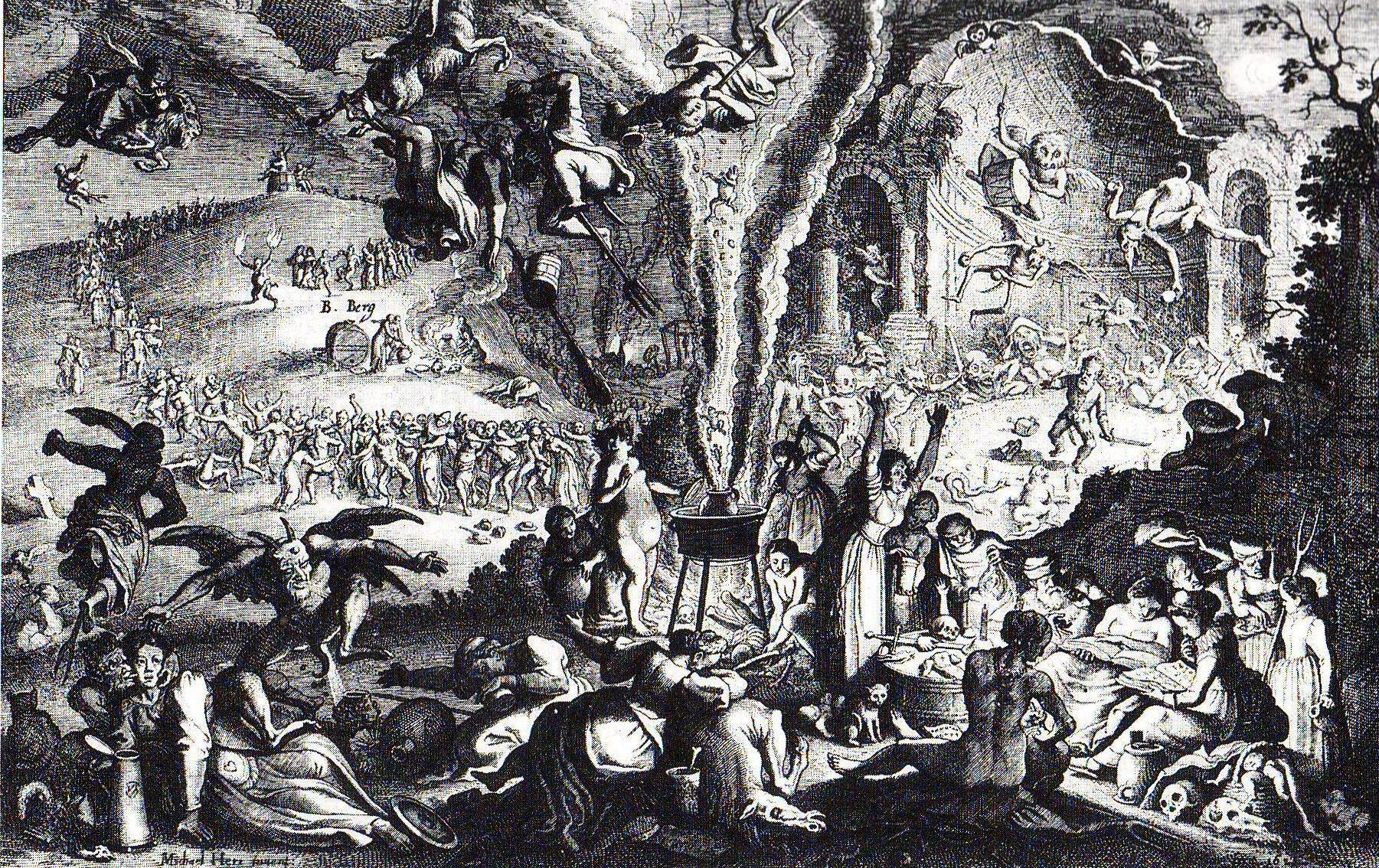The zugarramurdi witch trials welcome to the spanish salem featured image old engraving depicting a coven biocorpaavc Images