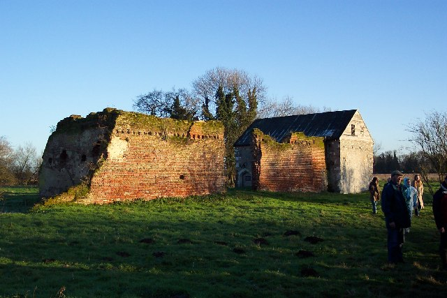 Woking Palace, near Old Woking.