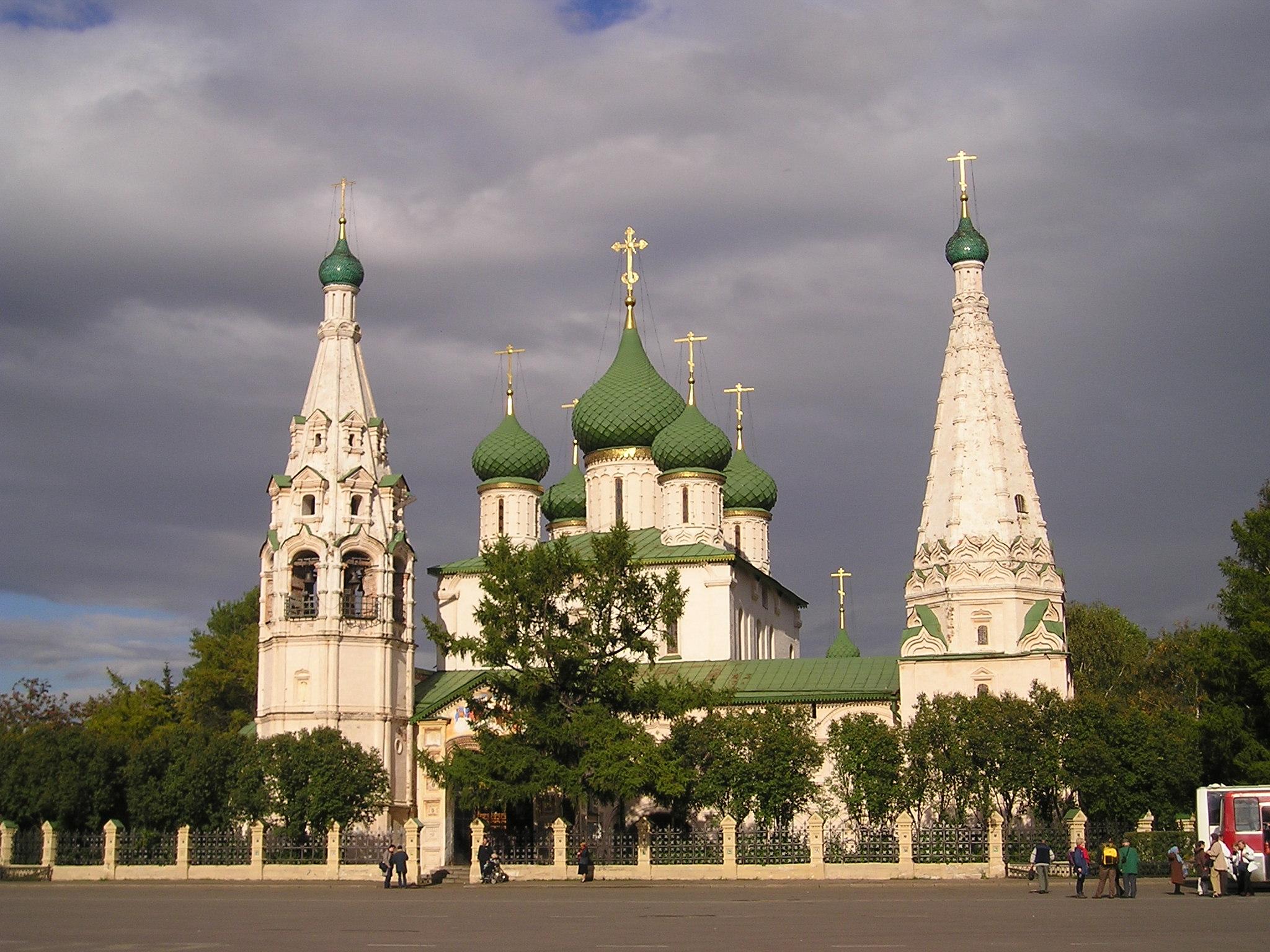 Ярославль включен в список Всемирного Наследия...