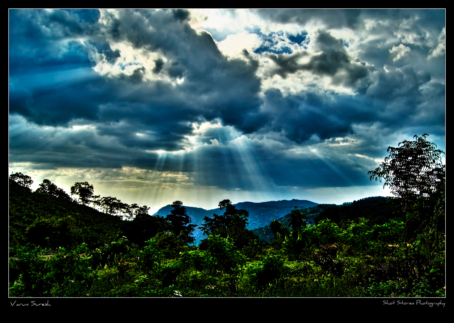 Description yercaud scenery