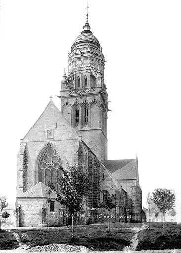 Fichier:Église de Sainte-Marie-du-Mont Mieusement..jpg