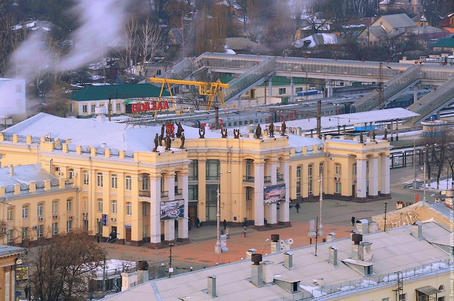 Воронеж схема вокзала