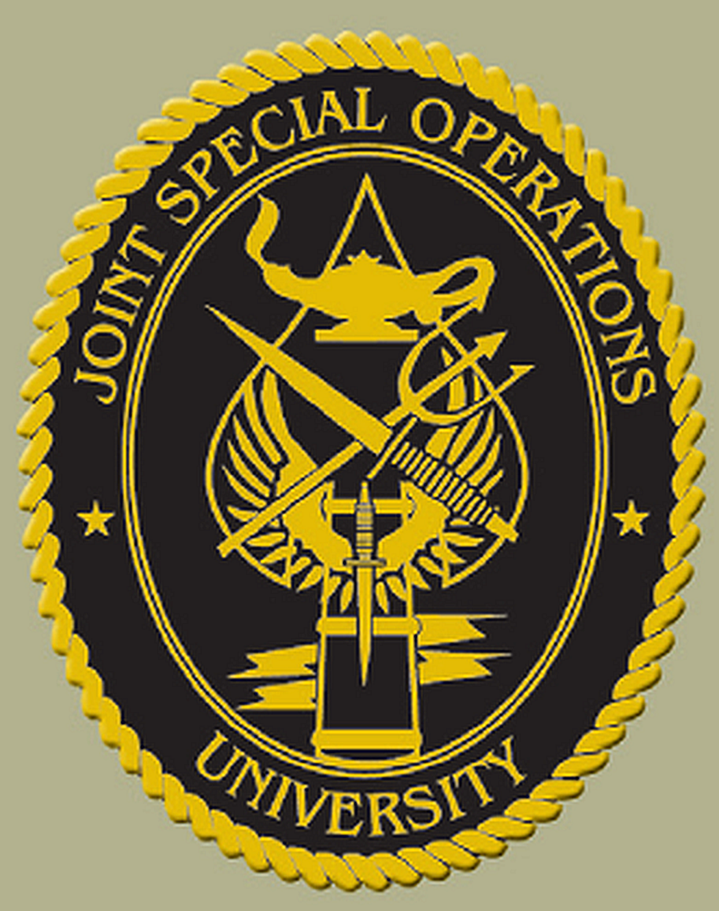 Image result for joint special operations university logo png