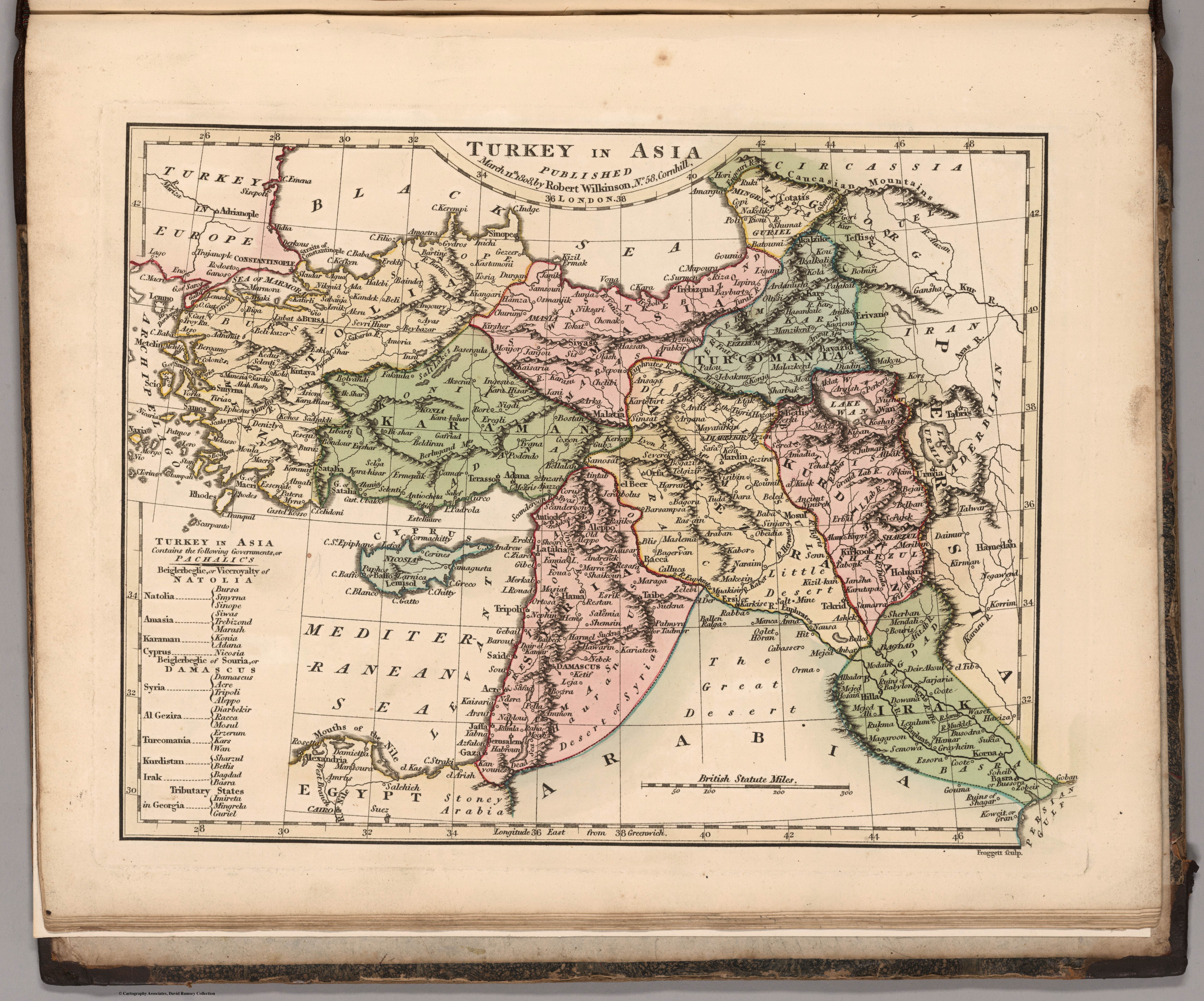 File 1808 map of Turkey in Asia Wikimedia mons