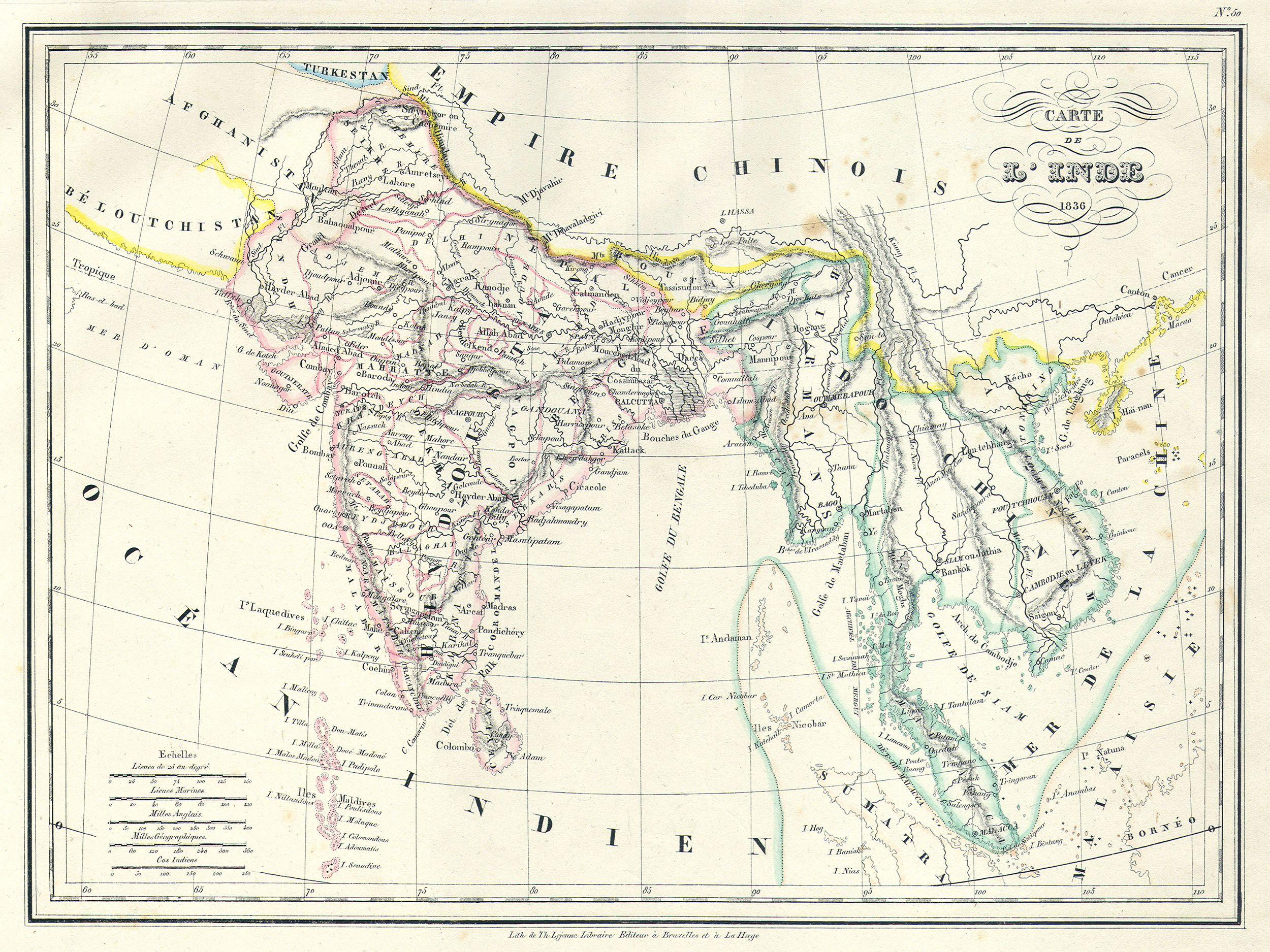File 1837 Malte Brun Map of India Burma and Southeast Asia Siam