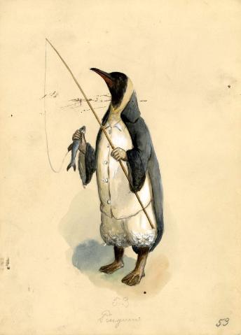 1896 Proteus Penguin Costume