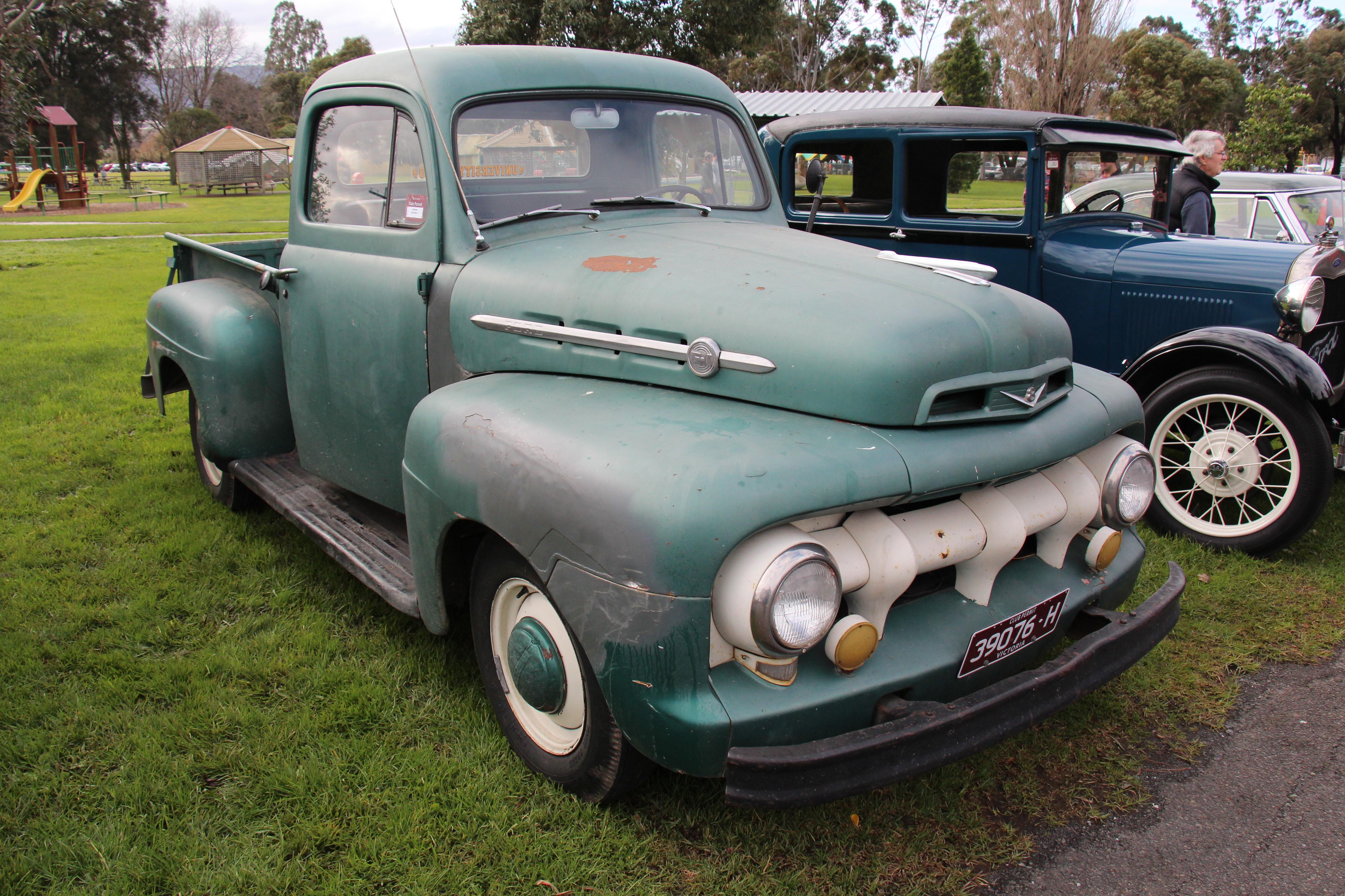 Five Star Cab >> File 1952 Ford F 1 Five Star Cab Pickup 28517814912 Jpg
