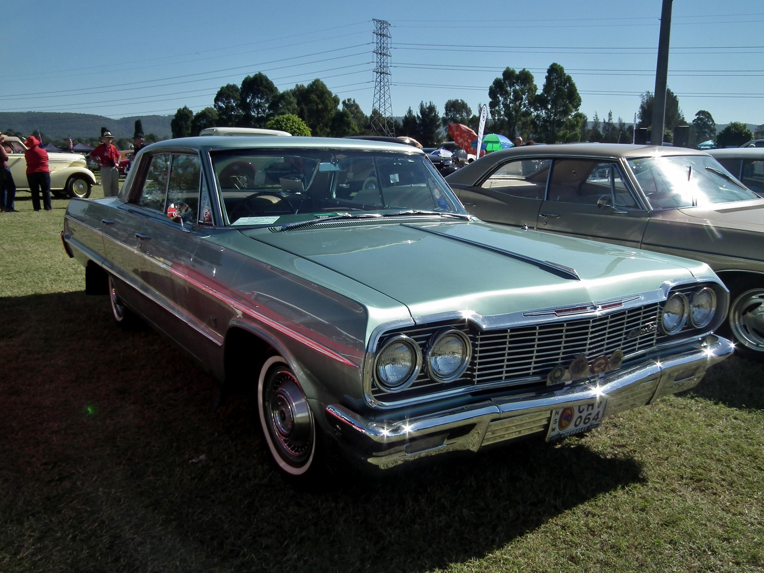 File 1964 Chevrolet Impala hardtop sedan