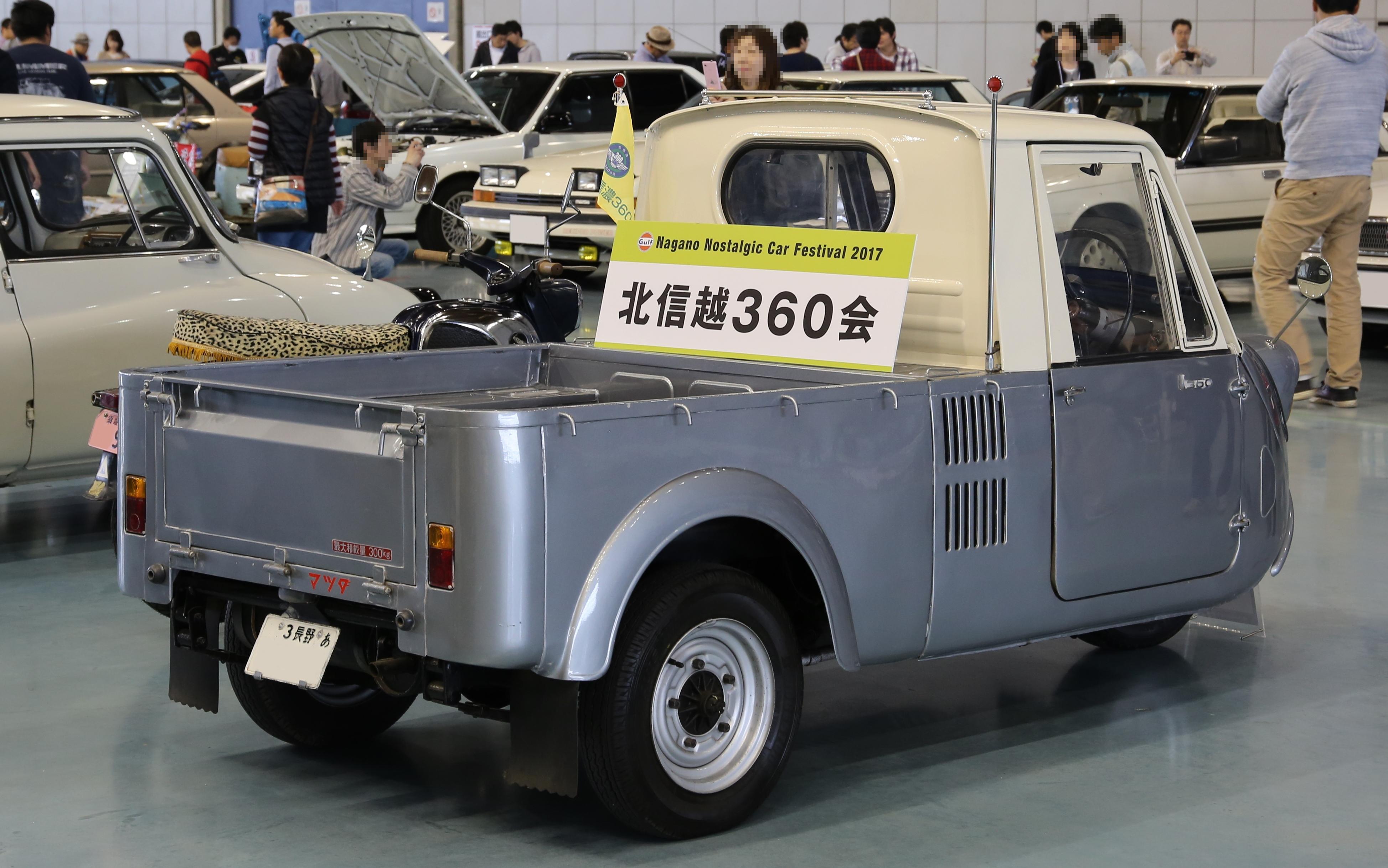 File 1967 Mazda K360 Rear Jpg Wikimedia Commons