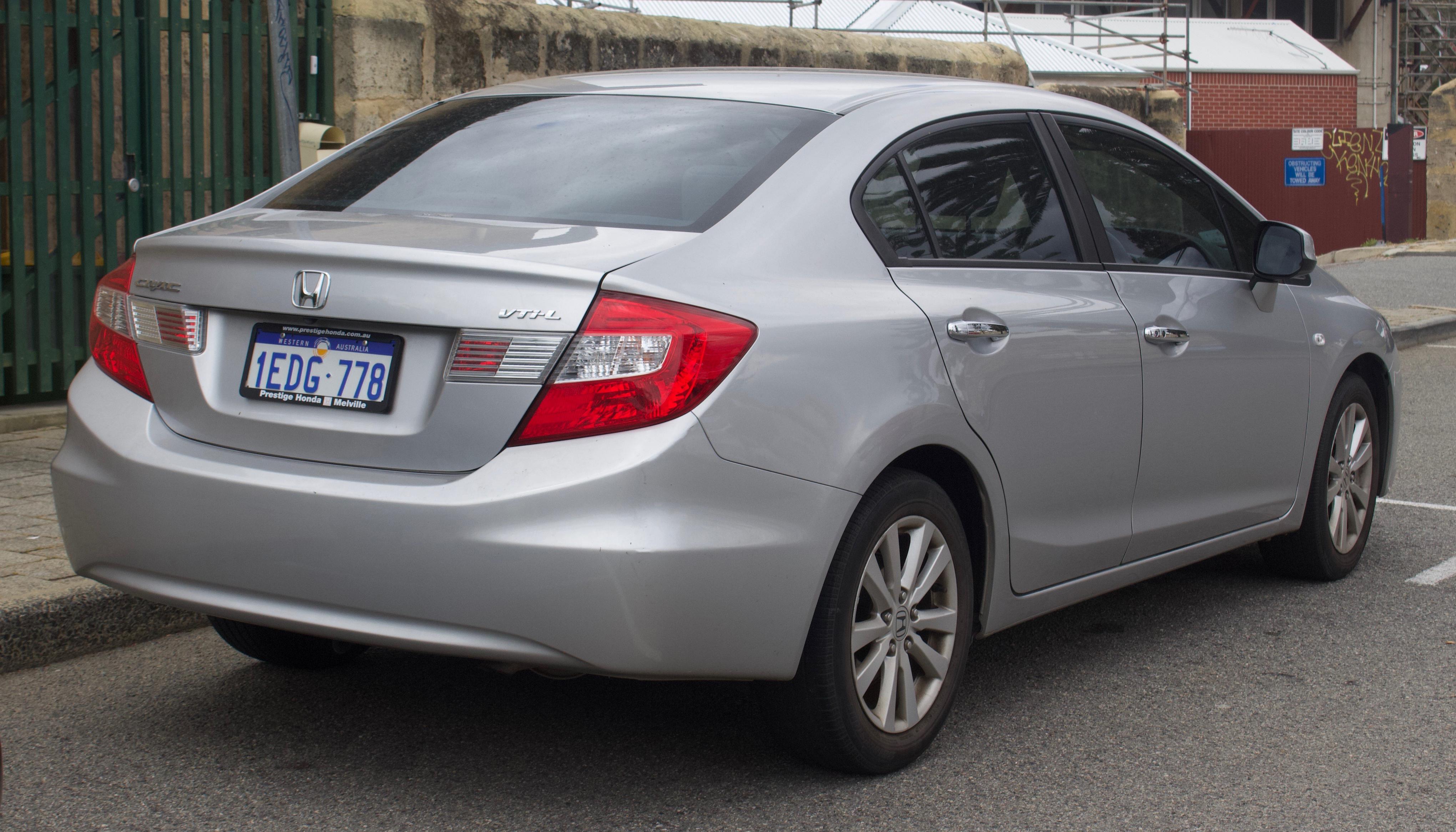 Kelebihan Civic 2013 Spesifikasi