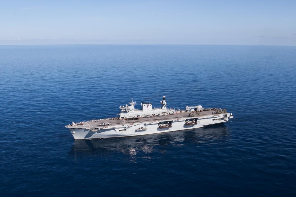 HMS Ocean (L12) 海洋号两栖攻击舰 - wuwei1101 - 西花社