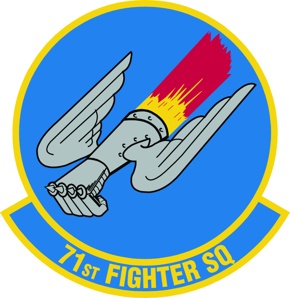 Fighter Squadron Logo 71st Fighter Squadron Emblem