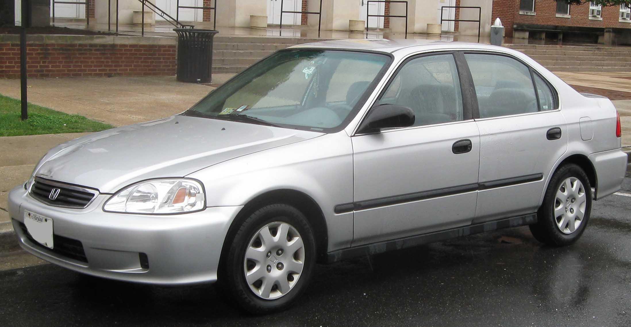 File 99 00 Honda Civic Sedan Jpg Wikimedia Commons