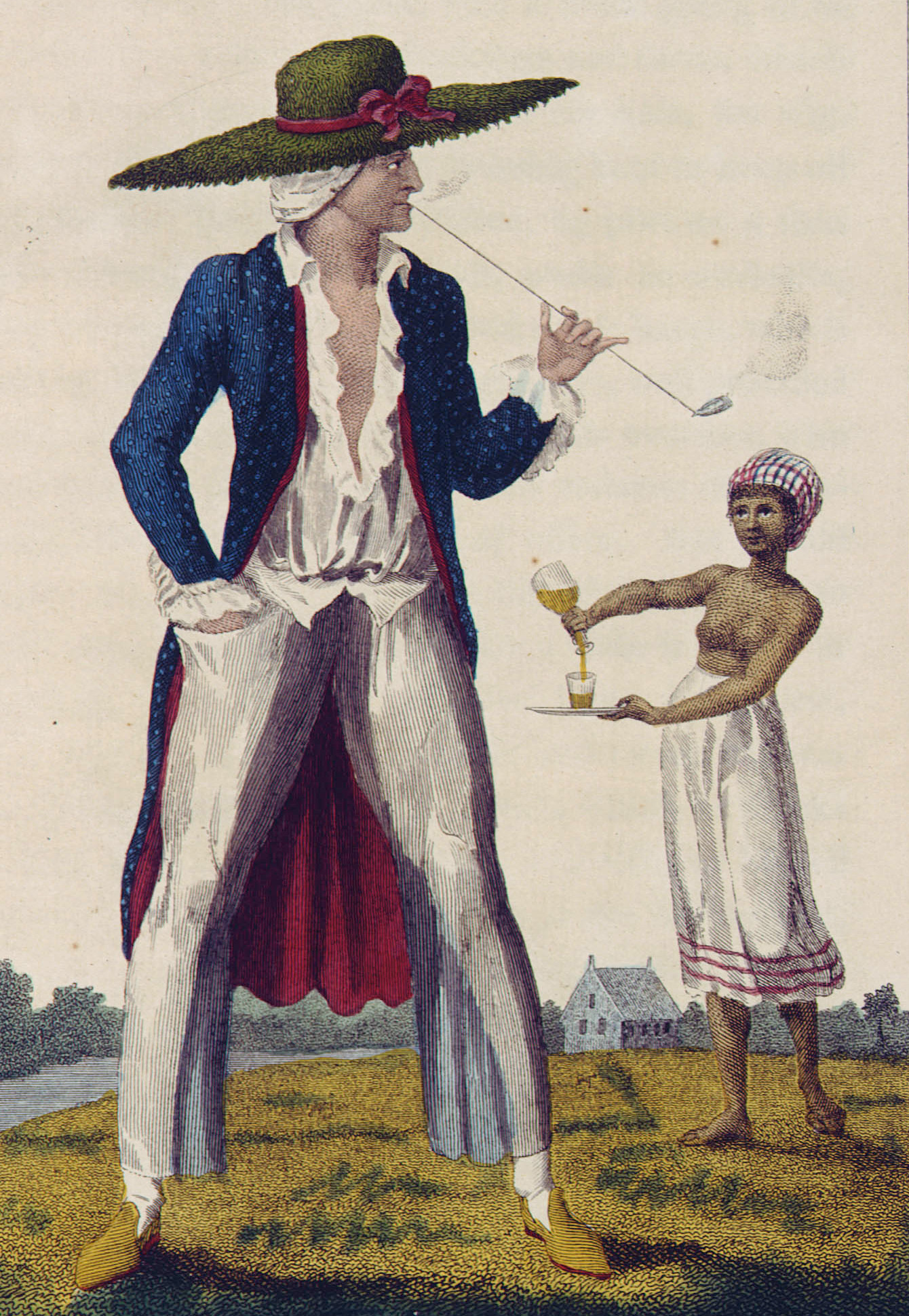 A Surinam Planter in his Morning Dress - detail.JPG