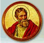 Pope Agatho and ten of his next twelve successors were culturally of Greek extraction. Agatho.png