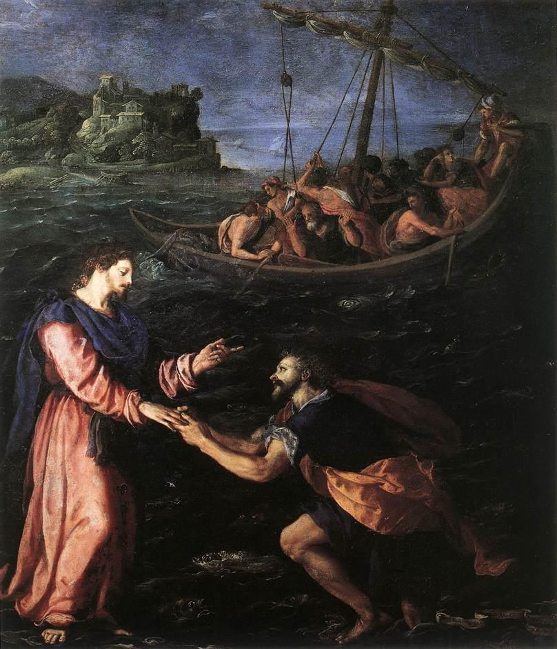 File:Alessandro Allori - St Peter Walking on the Water - WGA00184.jpg -  Wikimedia Commons