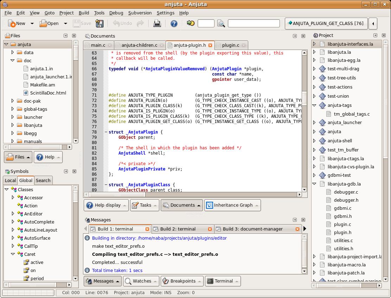 [artigo] IDE para c/c++ Anjuta-2.1.2-1