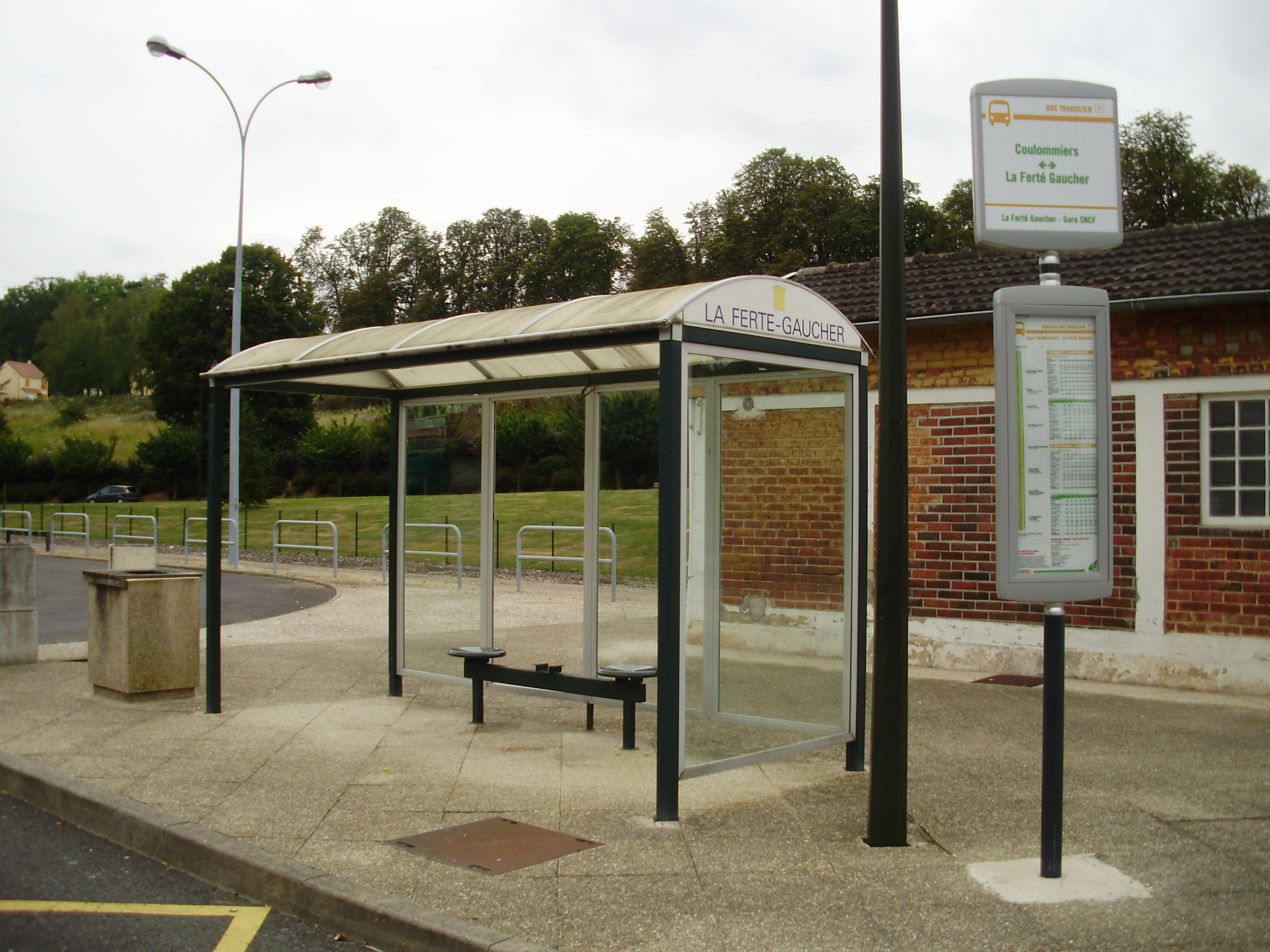image Bus stop near the institute 2
