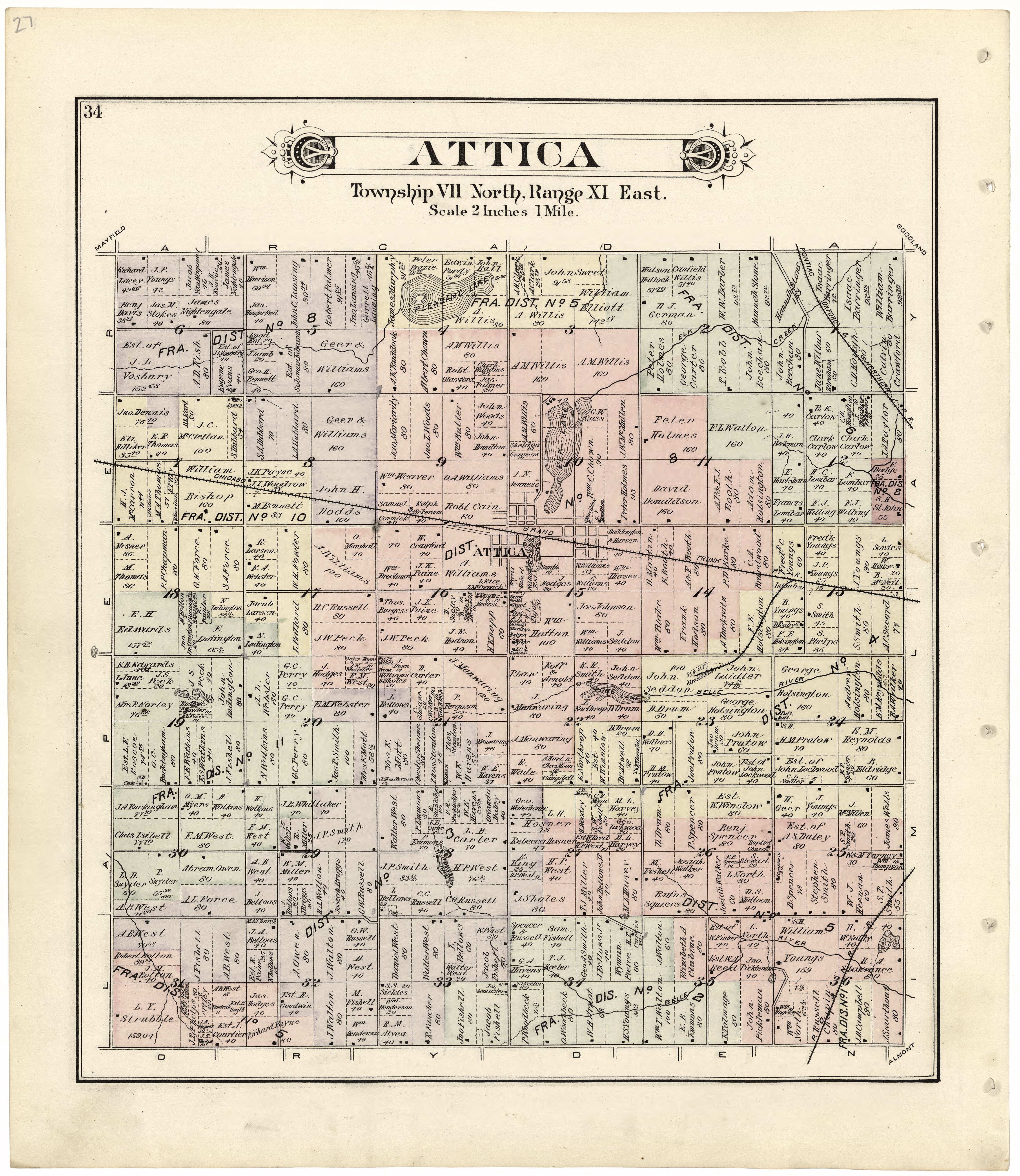 File Atlas and directory of Lapeer County Michigan LOC