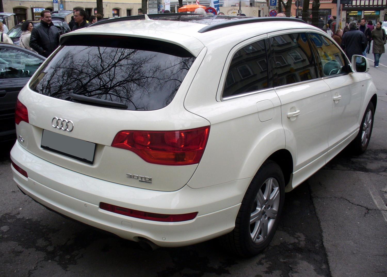 File:Audi Q7 S-Line 3.0 TDI quattro tiptronic Callaweiß Heck.JPG ...