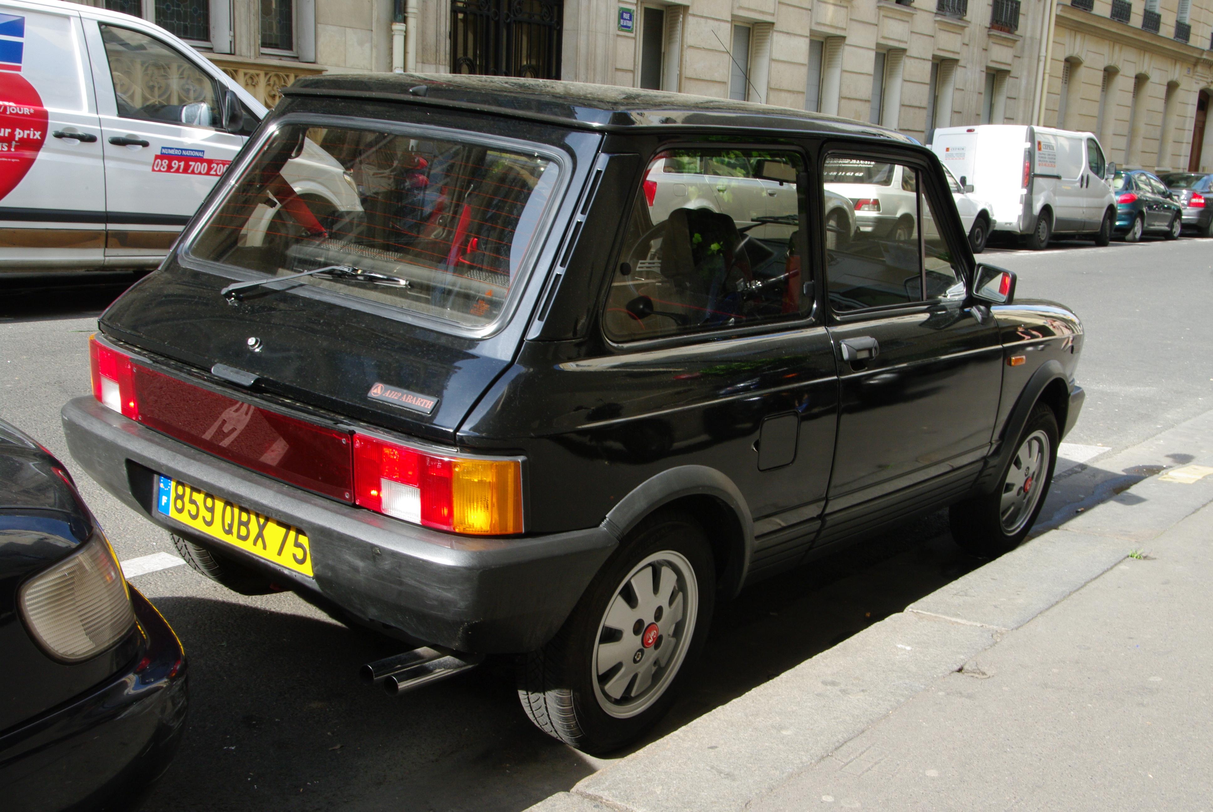 FIAT 127 SPORT 70hp PRESA ARIA COFANO ANTERIORE A112 ABARTH