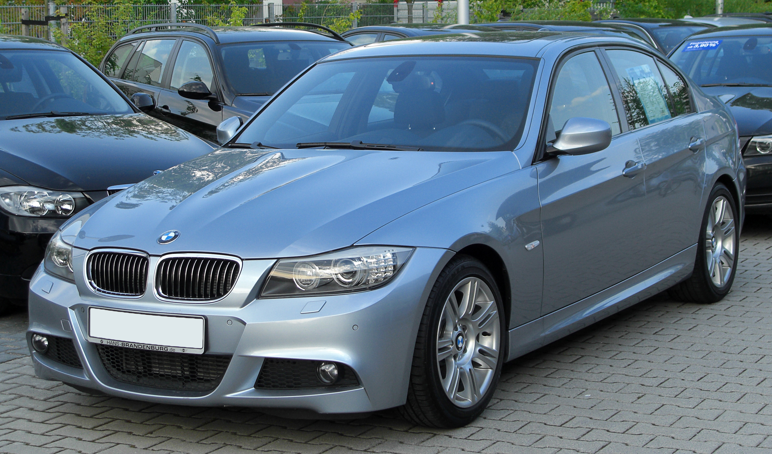 file bmw 325d m sportpaket e90 facelift front. Black Bedroom Furniture Sets. Home Design Ideas
