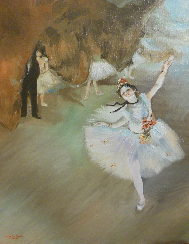 Archivo:Ballet (L'Étoile), Edgar Degas.jpg - Wikipedia, la ...