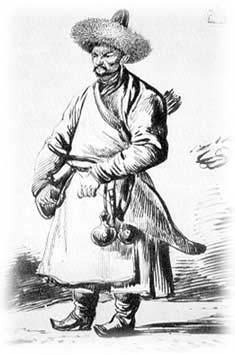Башкир. Художник: Орловский, Александр Осипович, 1814 гг