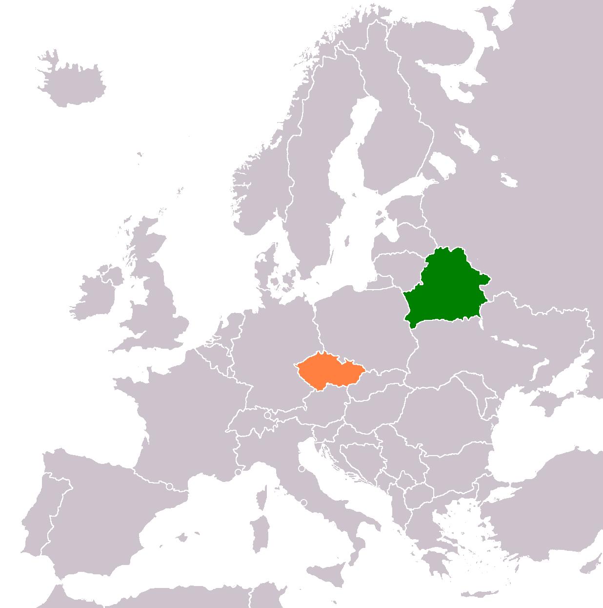 Belarus–Czech Republic relations