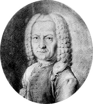 Depiction of Benedetto Marcello
