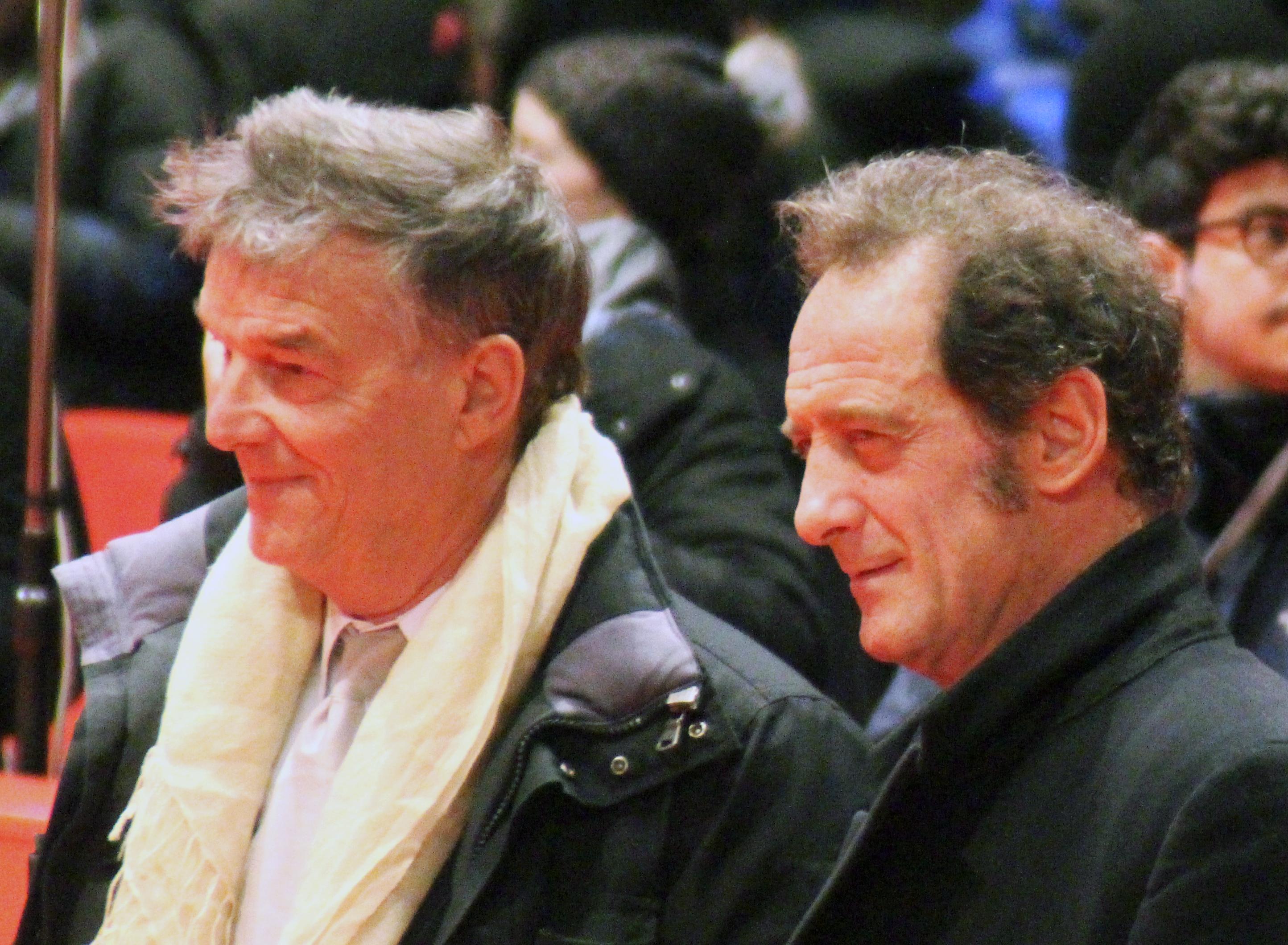 File Beno t Jacquot und Vincent Lindon Berlinale 2015