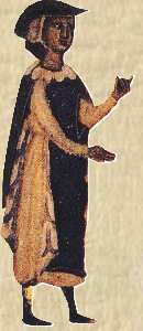Il trovatore Bernard de Ventadorn.