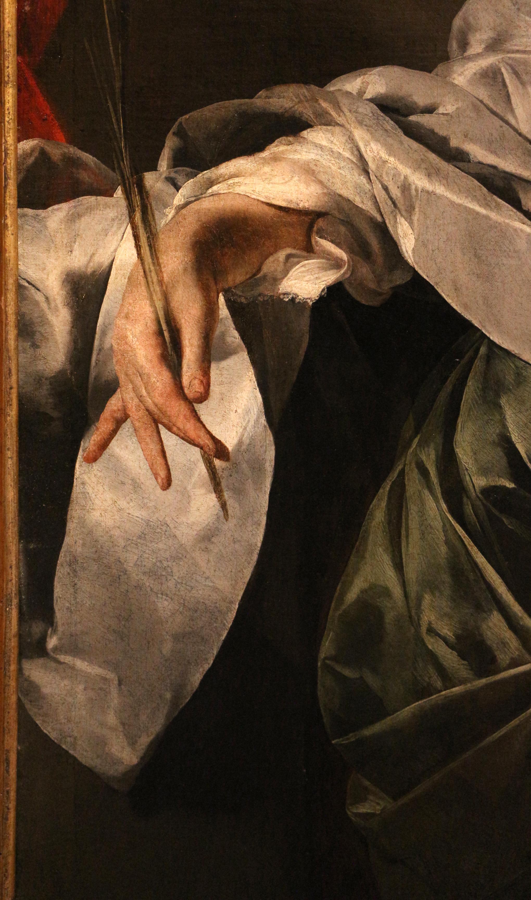Lorenzo Lotto, Trasporto di Cristo al sepolcro, recto