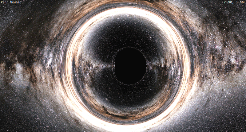 File:Black.Hole,Extremal.Kerr.Newman,Raytracing.png
