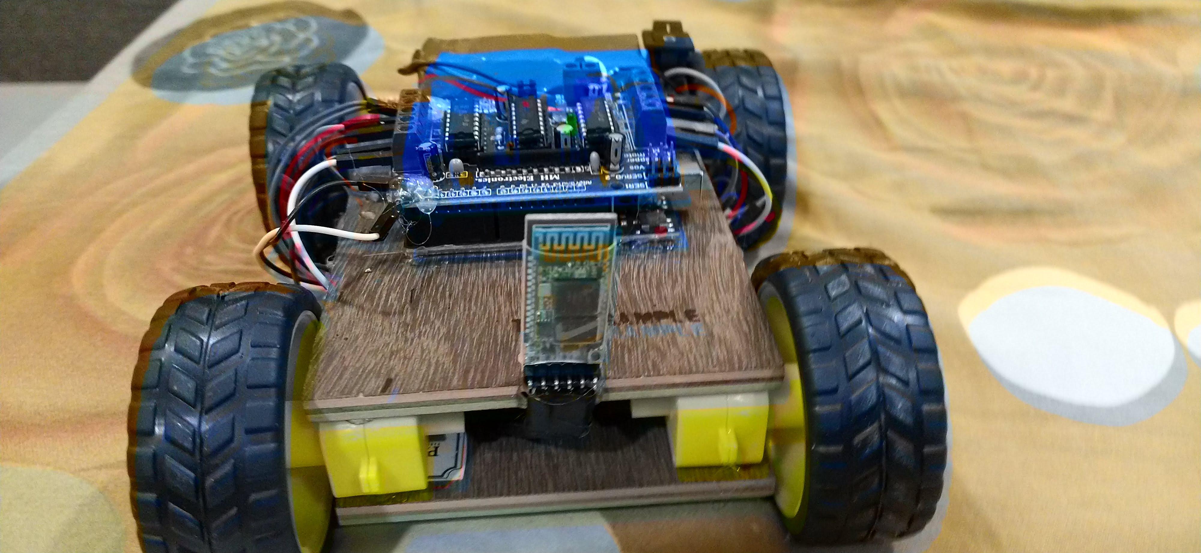 Bluetooth controlled RC car