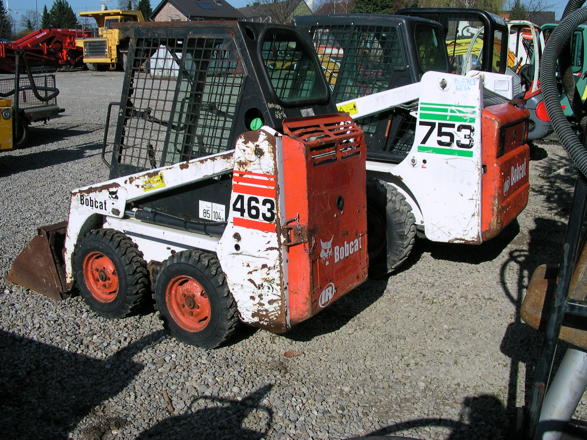 watch more like 753 bobcat backhoe attachment pictures of kubota skid steer loader