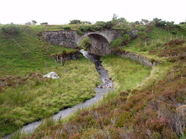 Bridge over Allt na Ceardaich - geograph.org.uk - 1416084