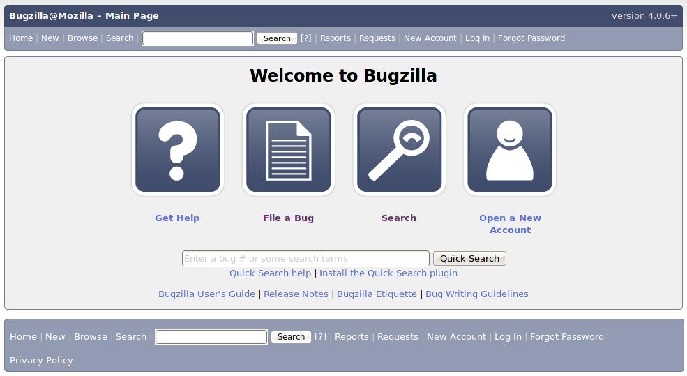 Bugzilla Wikipedia