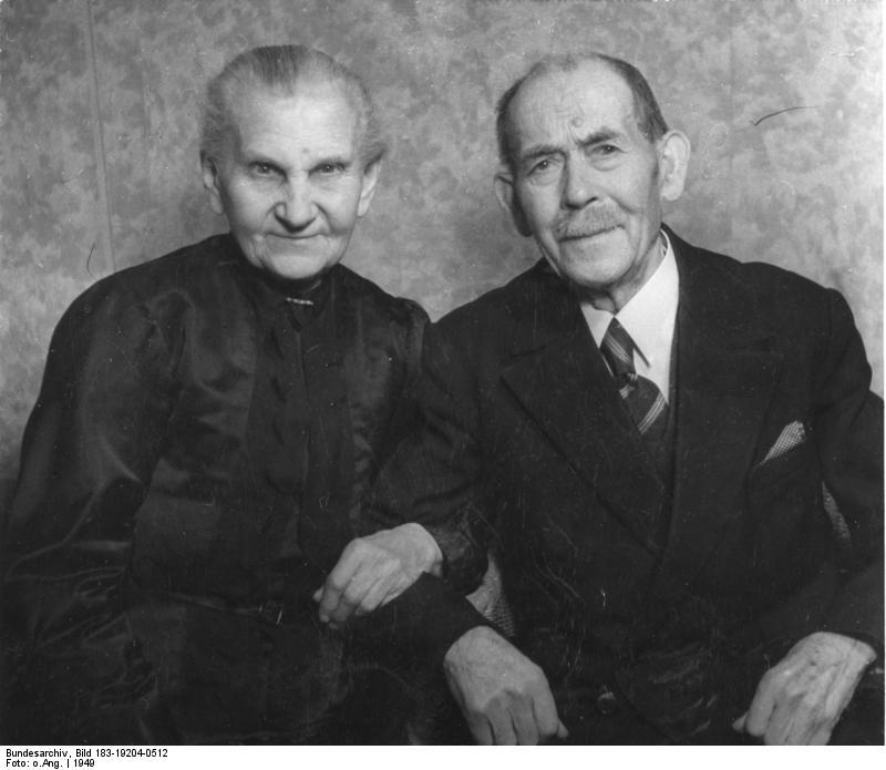 altes deutsches ehepaar