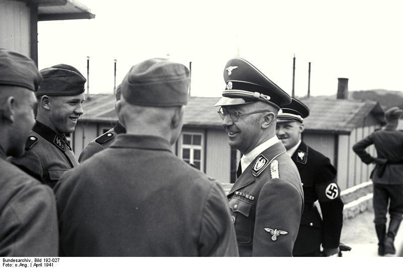 Bundesarchiv Bild 192-027, KZ Mauthausen, Himmler und Eigruber