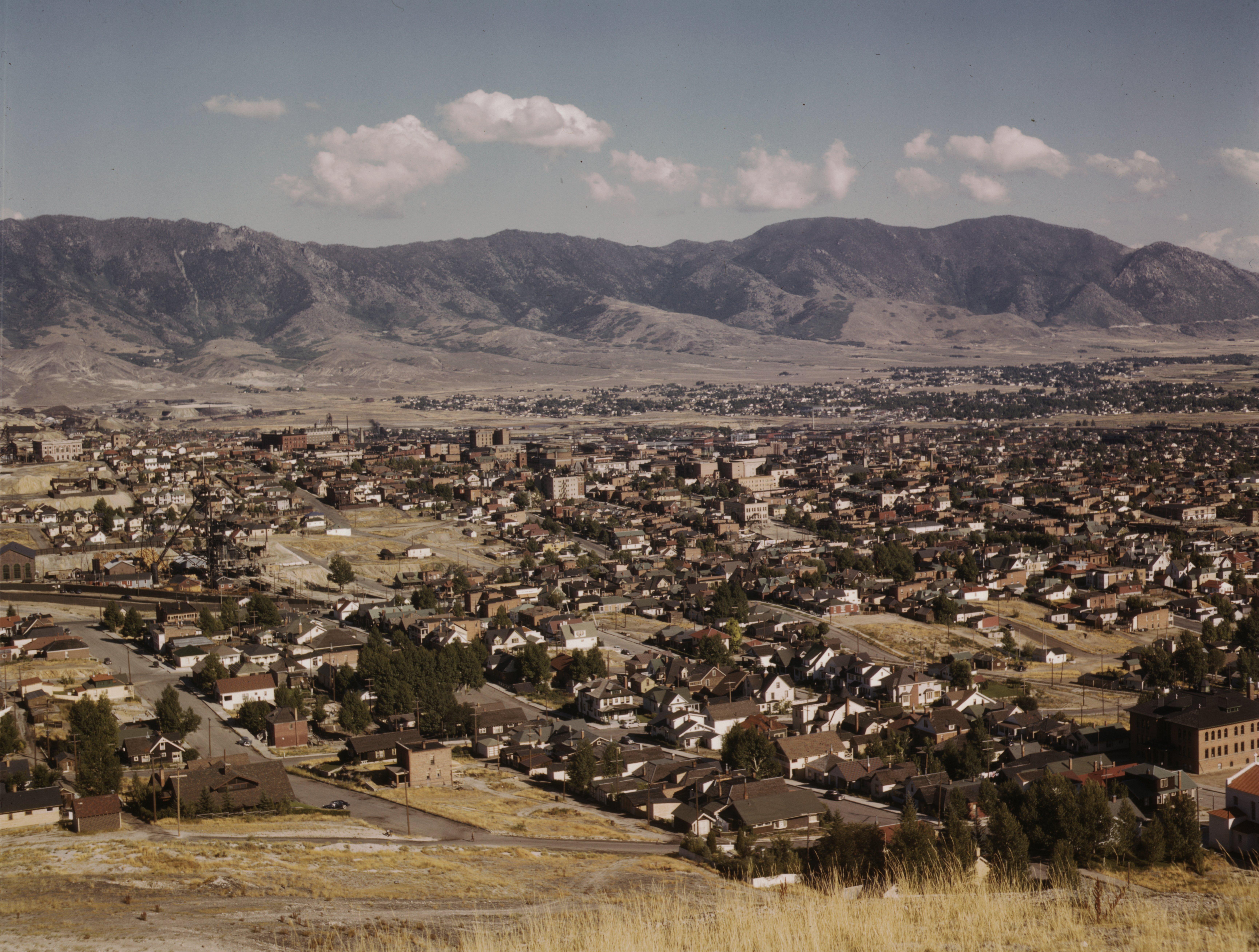 File Butte Montana 1942 Loc 1a35027u Jpg Wikimedia Commons