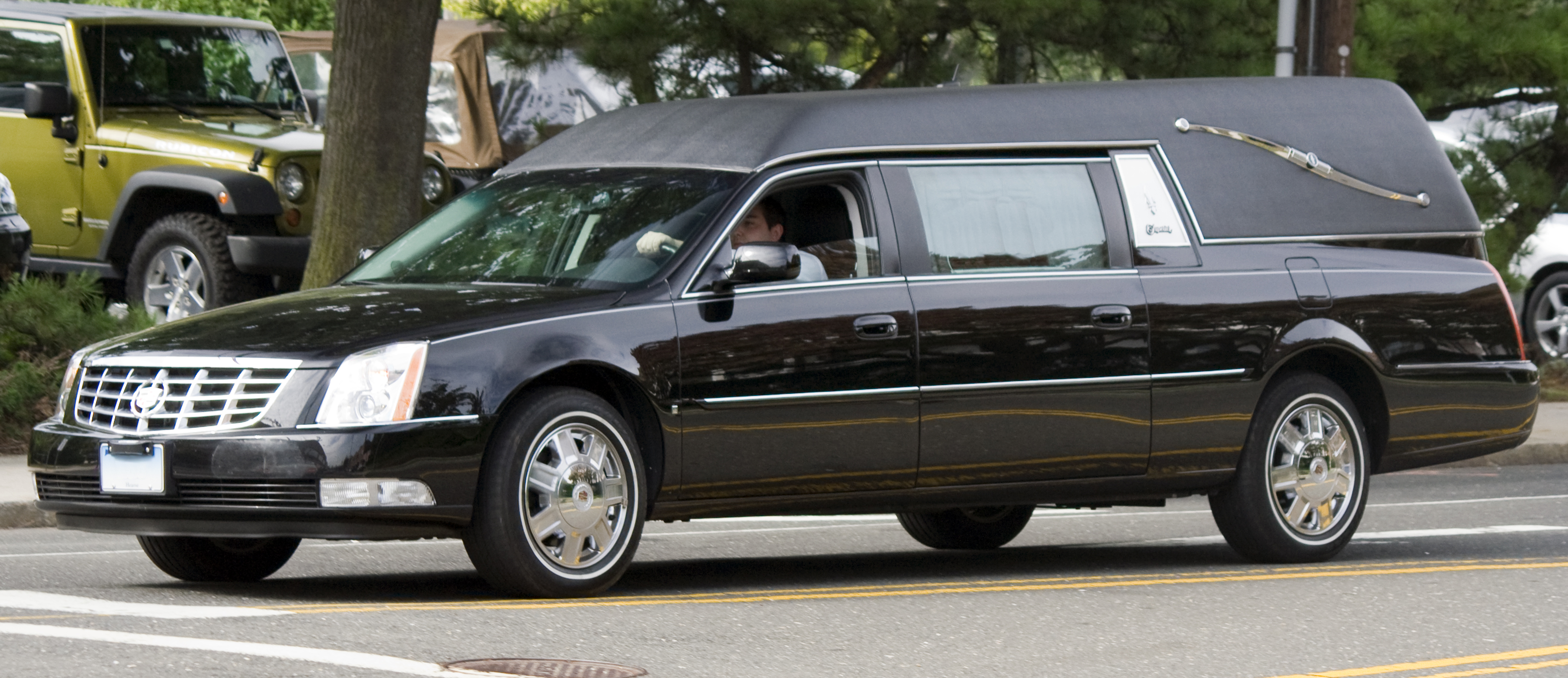 Caddy DTS hearse