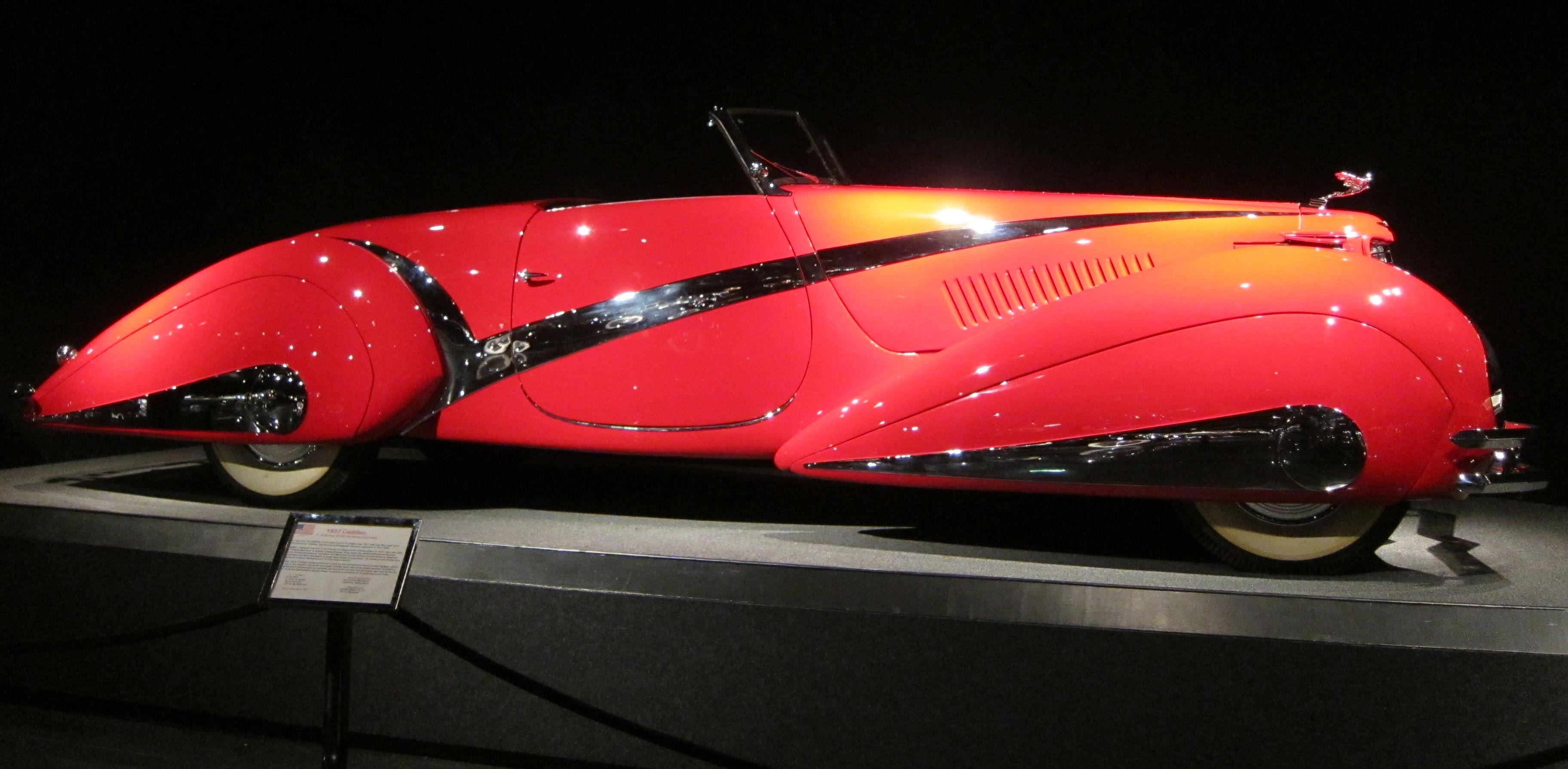 File Cadillac 1937 V16 Hartmann Cabriolet At Blackhawk Automobile Museum Jpg