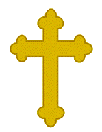 Catholic military chaplain badge of the Brazilian army