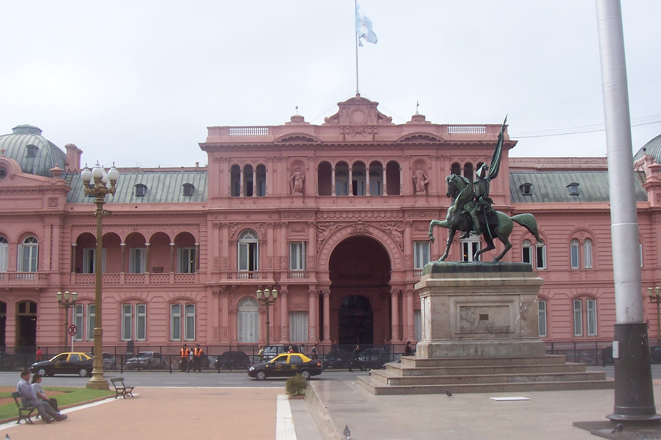 File casa rosadas argentina jpg wikimedia commons for Casa argentina
